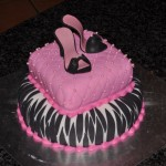 Fancy shoe cake
